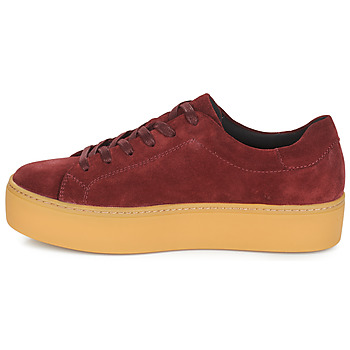 Vagabond JESSIE Bordeaux - Kostenloser Versand |  - Schuhe Sneaker Low Damen 7999