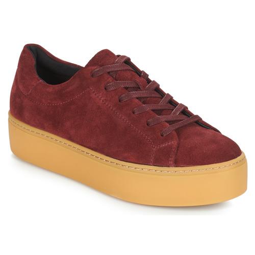 Vagabond JESSIE Bordeaux  Schuhe Sneaker Low Damen