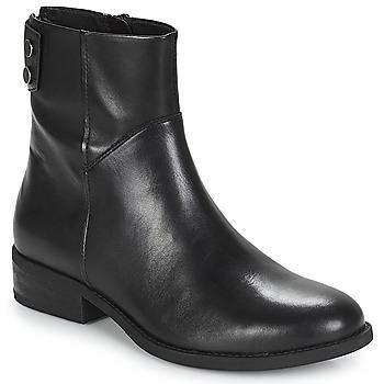 Schuhe Damen Boots Vagabond CARY Schwarz