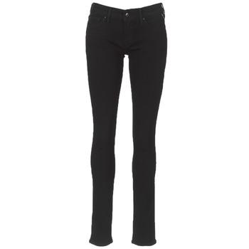 Kleidung Damen Slim Fit Jeans Replay LUZ Schwarz