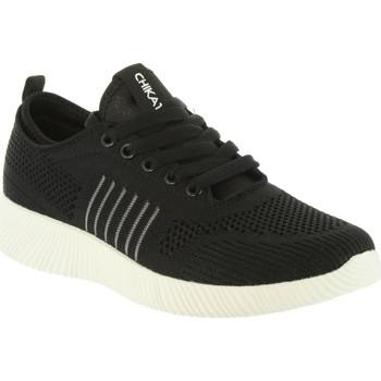 Schuhe Damen Sneaker Chika 10 ICHIA 02 Negro