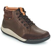 Schuhe Herren Sneaker High Clarks ASHCOMBE Braun