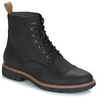 Schuhe Herren Boots Clarks BATCOMBE LORD Schwarz