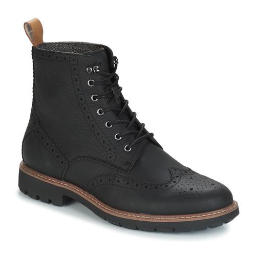 Clarks BATCOMBE LORD Schwarz - Kostenloser Versand       - Schuhe Stiefel Herren 119