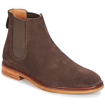 Schuhe Herren Boots Clarks CLARKDALE Dark / Braun