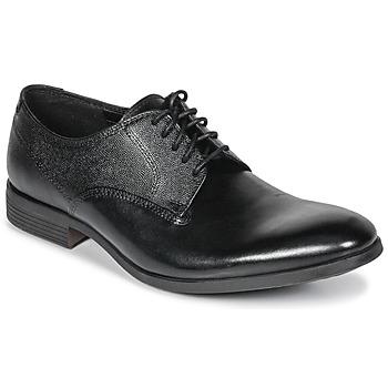 Schuhe Herren Derby-Schuhe Clarks GILMORE Schwarz