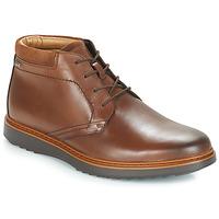 Schuhe Herren Boots Clarks UN Braun