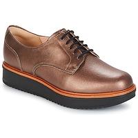 Schuhe Damen Derby-Schuhe Clarks TEADALE Dark