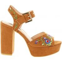 Schuhe Damen Sandalen / Sandaletten Chika 10 NEW TAYLOR 02 Marrón