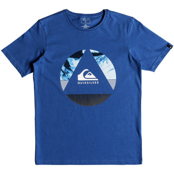 Kleidung Jungen T-Shirts Quiksilver Classic Fluid Turns Junior Blau