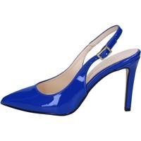 Schuhe Damen Sandalen / Sandaletten Olga Rubini sandalen blau lack BY285 blau