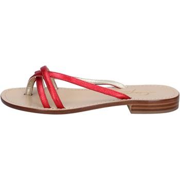 Schuhe Damen Sandalen / Sandaletten Capri Soleae BY501 Rot
