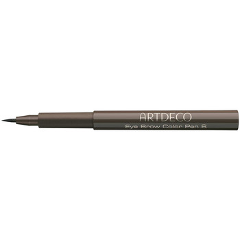 Beauty Damen Augenbrauenpflege Artdeco Eye Brow Color Pen 6-medium Brown  1,1 ml