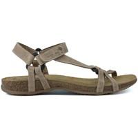Schuhe Damen Sandalen / Sandaletten Interbios ZWISCHENSANDALEN TRIBERMUT 5412 BEIGE