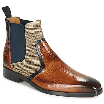 Schuhe Herren Boots Melvin & Hamilton LEWIS 26 Braun / Marine
