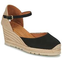 Schuhe Damen Sandalen / Sandaletten Unisa CACERES Schwarz