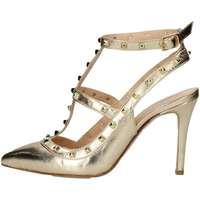 Schuhe Damen Sandalen / Sandaletten Mariano Ventre VAL01 Sandale Frau Platin Platin