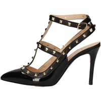 Schuhe Damen Sandalen / Sandaletten Mariano Ventre VAL01 Sandale Frau Schwarz Schwarz