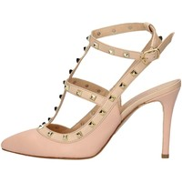 Schuhe Damen Sandalen / Sandaletten Mariano Ventre VAL01 Sandale Frau Pink Pink