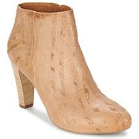 Schuhe Damen Low Boots Vic RIBE INTAGLIATO Braun