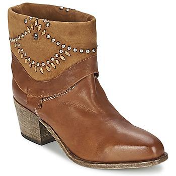 Schuhe Damen Low Boots Vic AGAVE Braun