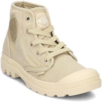 Schuhe Damen Sneaker High Palladium Manufacture Pampa HI Gelb