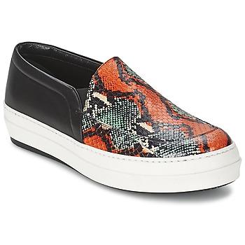 Schuhe Damen Slip on McQ Alexander McQueen DAZE Schwarz / Multifarben