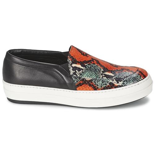 McQ Alexander McQueen DAZE Schwarz / Multifarben  Schuhe Slip on Damen 271,20