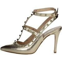 Schuhe Damen Pumps Mariano Ventre VAL01  Platin