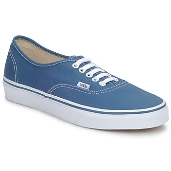 Schuhe Sneaker Low Vans AUTHENTIC Blau