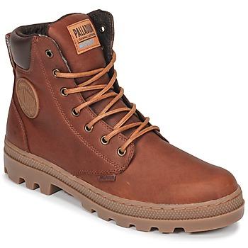 Schuhe Herren Boots Palladium PALLABOSSE SC WP Braun