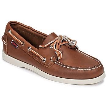 Schuhe Herren Bootsschuhe Sebago DOCKSIDES FGL Braun