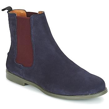 Schuhe Damen Boots Sebago CHELSEA DONNA SUEDE Marine