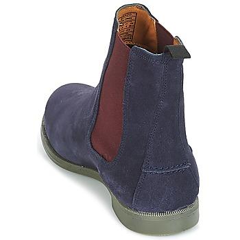 Sebago CHELSEA DONNA SUEDE Marine - Kostenloser Versand    - Schuhe Boots Damen 12720