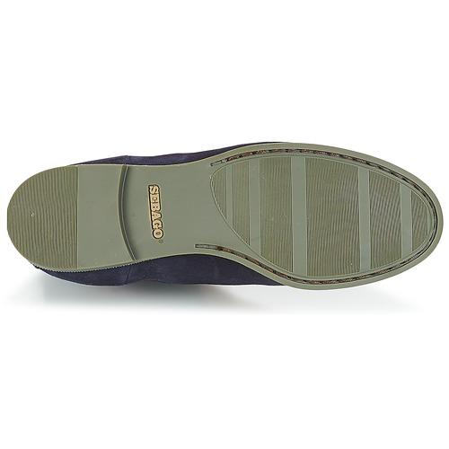 Sebago CHELSEA DONNA SUEDE Marine 159  Schuhe Boots Damen 159 Marine 388703