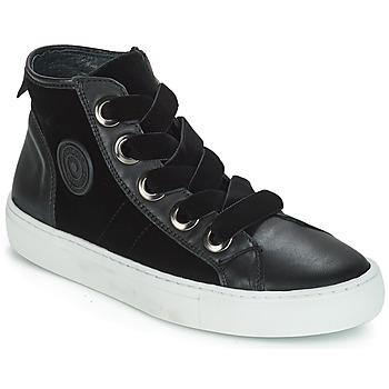 Schuhe Damen Sneaker High Pataugas Zally Schwarz