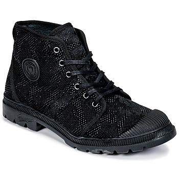 Schuhe Damen Boots Pataugas Authentique TP Schwarz