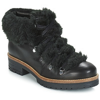 Schuhe Damen Boots Pataugas Task Schwarz