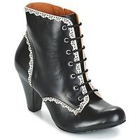 Schuhe Damen Low Boots Cristofoli KARANA Schwarz
