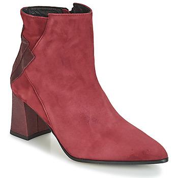 Schuhe Damen Low Boots Elizabeth Stuart DHEXTER Bordeaux