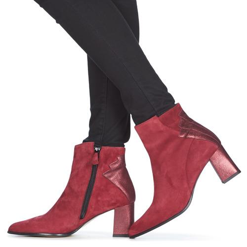 DHEXTER  Elizabeth Stuart  low boots  damen  bordeaux