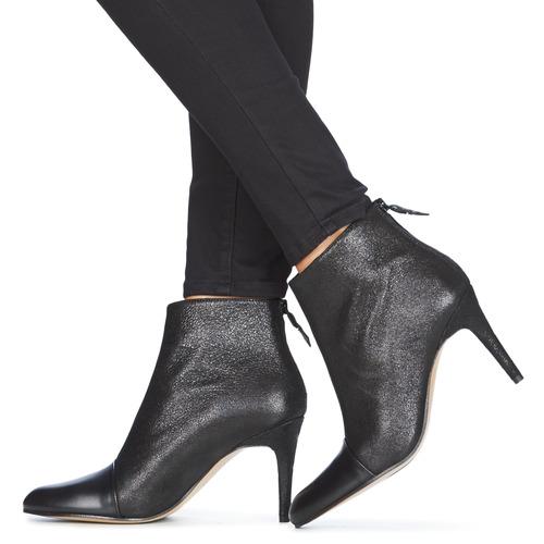 Elizabeth Stuart Stuart Stuart CITOU Schwarz  Schuhe Low Stiefel Damen 16cf9d