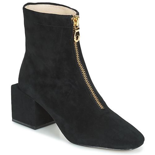 Miss L'Fire JUNE Schwarz  Schuhe Schuhe Schuhe Low Stiefel Damen 3b4195