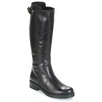 Schuhe Damen Klassische Stiefel Samoa DOLCU Schwarz