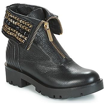Schuhe Damen Boots Tosca Blu KIRUNA Schwarz