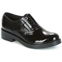Schuhe Damen Derby-Schuhe Tosca Blu FRASER Schwarz