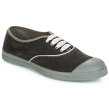 Schuhe Damen Sneaker Low Bensimon TENNIS VELVET PIPING Grau