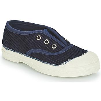 Schuhe Kinder Sneaker Low Bensimon TENNIS ELLY CORDUROY Marine