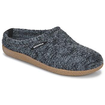 Schuhe Damen Hausschuhe Giesswein VEITSCH Grau