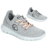 Schuhe Damen Sneaker Low Giesswein MERINO RUNNERS Grau